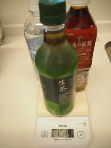 ペットボトル3本